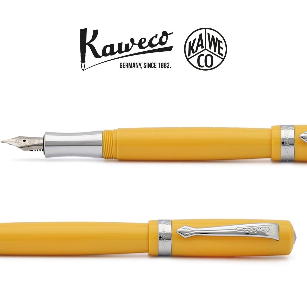 punta mediana Kaweco Student Estilogr/áfica amarillo M