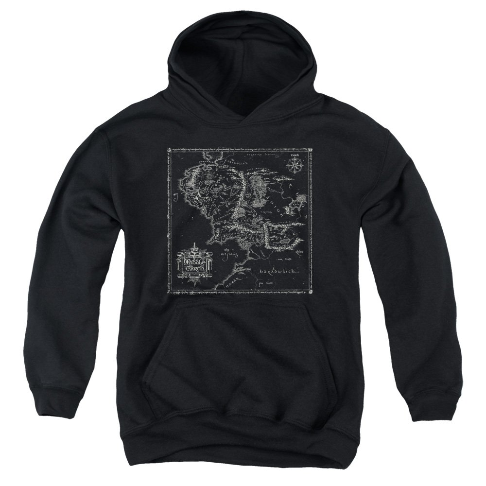 Amazon.com: Youth Hoodie: Lord of The Rings- Middle Earth ...