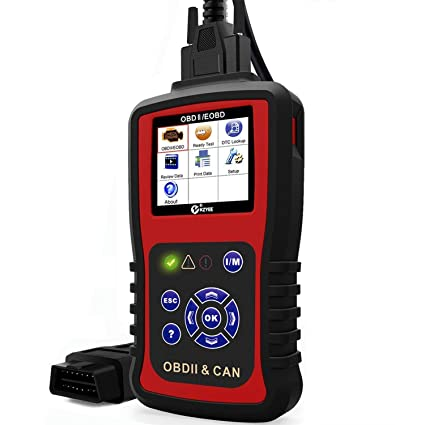 Kzyee KC301 Universal OBD2 Scanner, Enhanced OBD-II Mode 6 Car Code  Reader/Eraser with Live Data, Diesel or Gasoline Engine Diagnostic Scan  Tool for