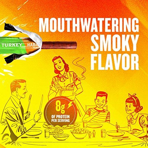 Slim Jim Turkey Snack-Sized Smoked Meat Stick, Habanero Flavor, .97 Oz. (24 Count)