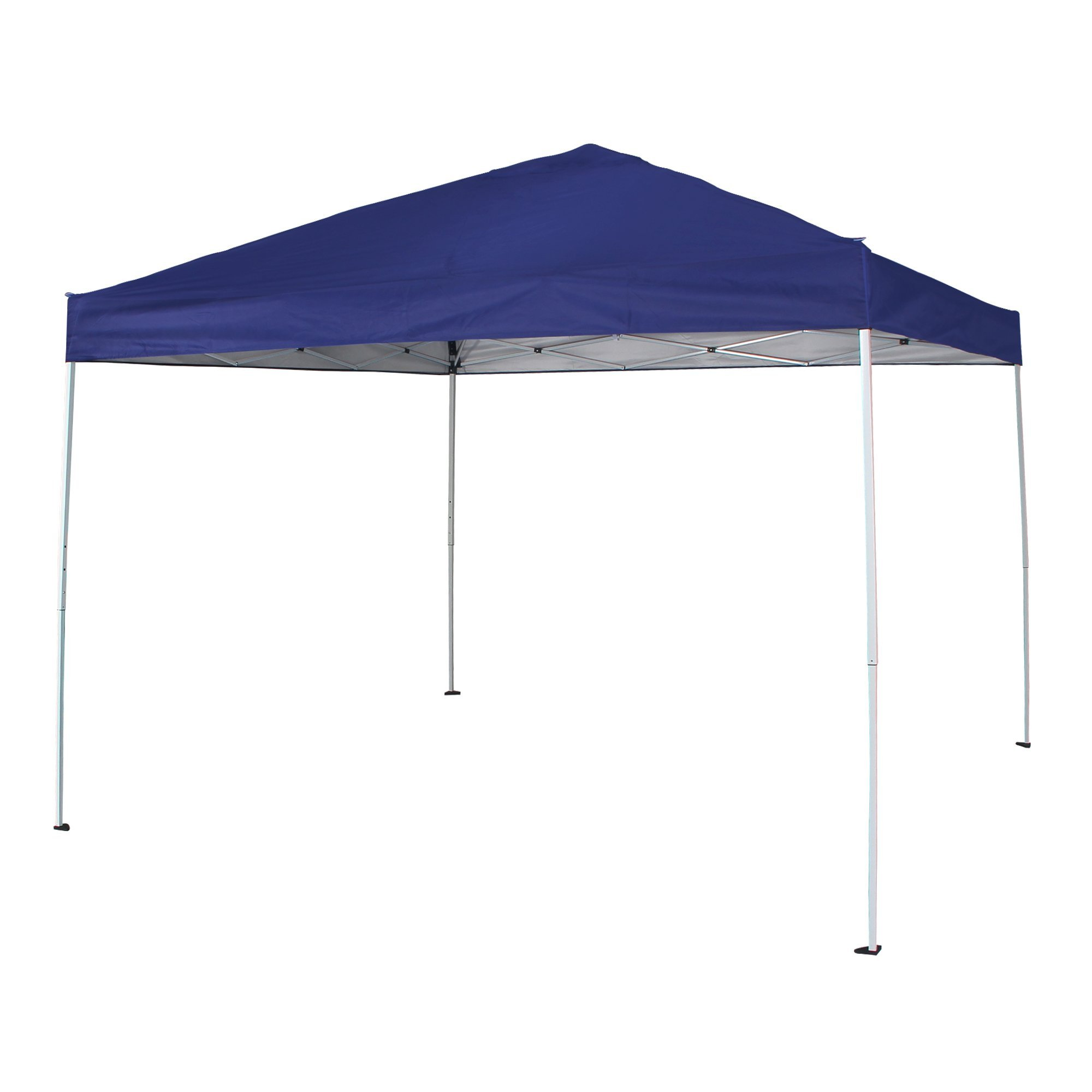 FurniTure Canopy Tent 10' x 10' Pop Up Canopy Tent Commercial Party Canopy Instant Canopy 10x10 Outdoor Canopy Patio Canopy Easy Set Up with Carry Bag, Blue