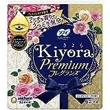 【お徳用 3 セット】 ソフィ Kiyora(きよら) プレミアムフレグランス エレガントローズの香り パンティライナー 14cm 62枚×3セット