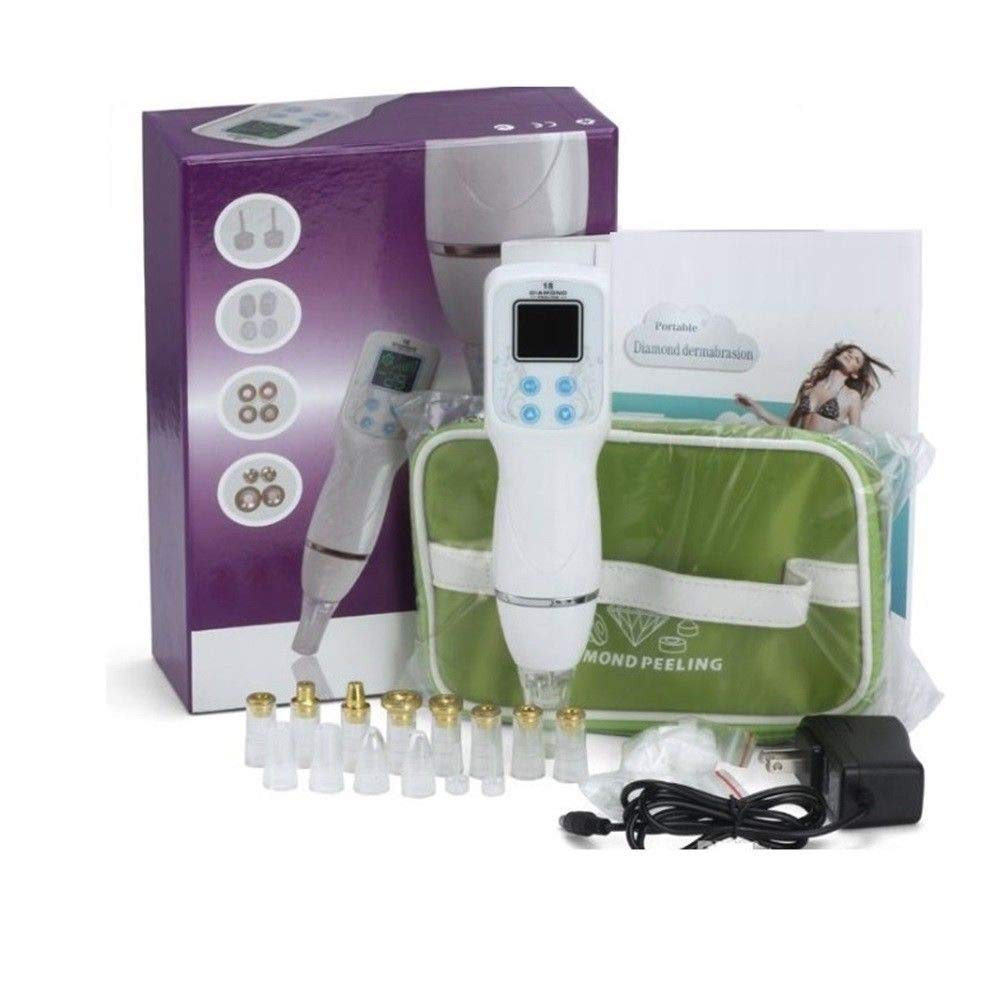 XYZDreams 12 Tips Facial Care Skin Diamond Dermabrasion Scar Blackhead Removal Acne Pore Peeling Machine Massage Microdermabrasion