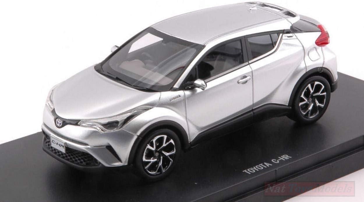NEW EBBRO EB45600 Toyota C-HR 2016 Silver 1:43 MODELLINO DIE CAST Model