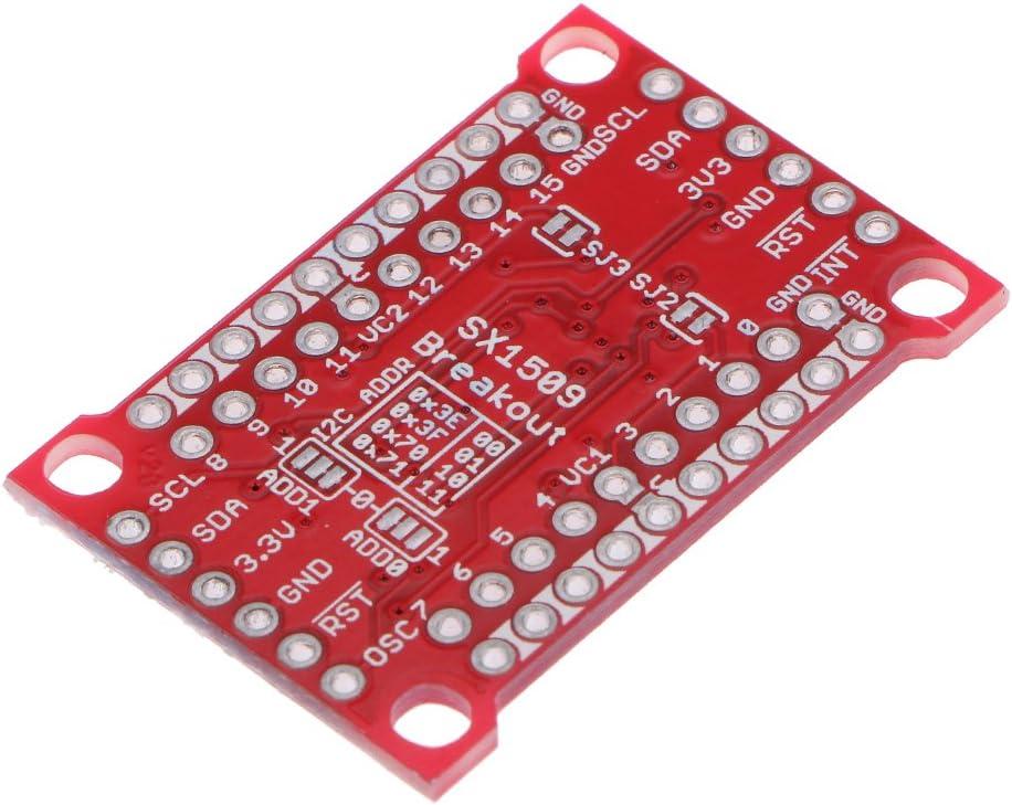 perfk Pilote De Del Et Clavier GPIO pour Module De Sortie E//S SX1509 16 Canaux pour Arduino