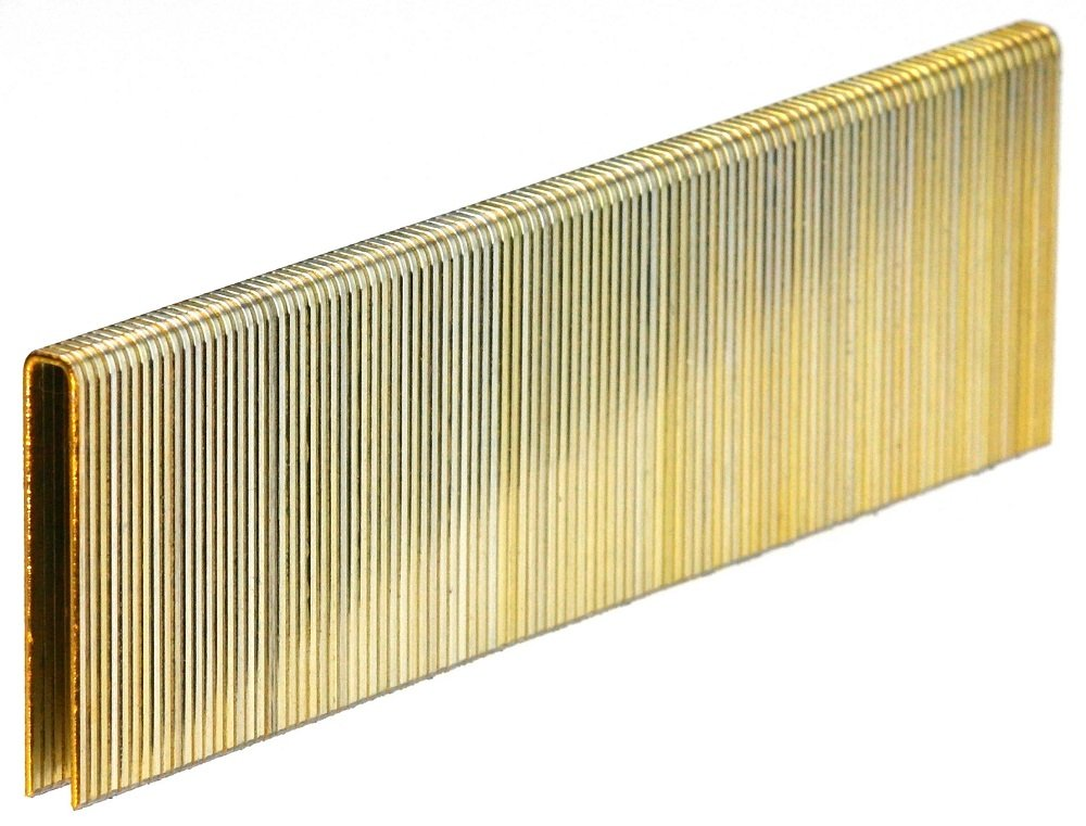 PREBENA 1/4-Inch Crown x 1-1/2-Inch Length x 18 Gauge Senco L Style Galvanized Construction Staples (5000-Pack)