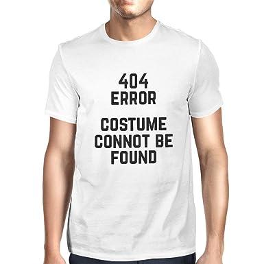 c2612195a9 365Printing 404 Error Custom Not Found T-shirt Halloween Tee Mens Cute  Shirt (UNISEX