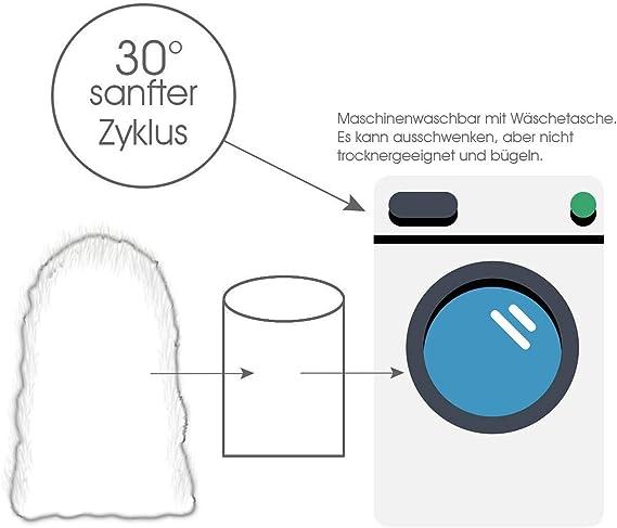 Manta de imitación de piel de cordero, sintética, 60 x 90 cm ...