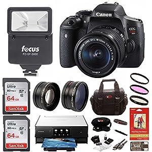 Canon Rebel T6i Digital SLR Camera Bundles