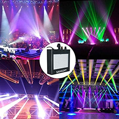 SAHAUHY LED Strobe Light with 180 Super Bright LEDs Speed and Color Controlled by Remote(180-2) from SAHAUHY
