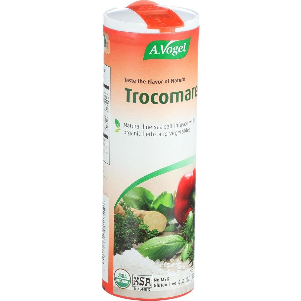 A. Vogel Trocomare - Natural Fine Sea Salt Infused With Organic Herbs and Vegetables 4.40-Ounce