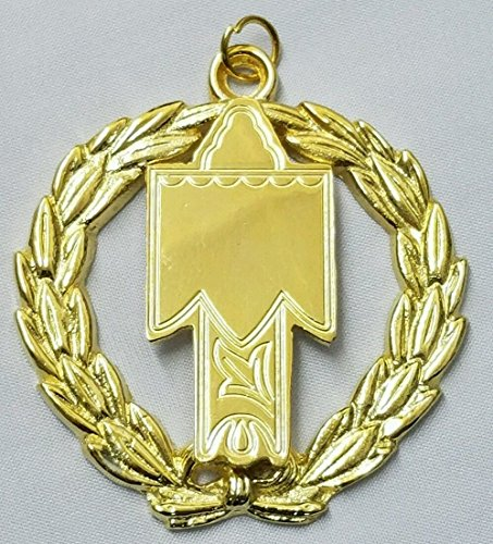 Freemason Grand Standard Bearer Collar Jewel in Gold - Collar Standard Jewel