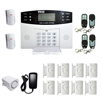 dolity Juego de sistema de alarma GSM Sistema de seguridad ...