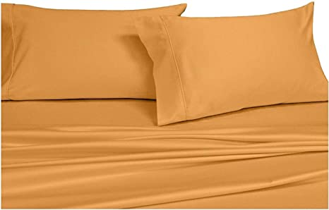 "Royal/'s Solid Soft Bed Sheet Set Luxury 1000TC 100/%EgyptianCotton 15/""Deep Pocket"