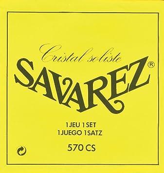 Savarez 520R High Tension Saiten für Konzertgitarre Klassikgitarren-Saiten