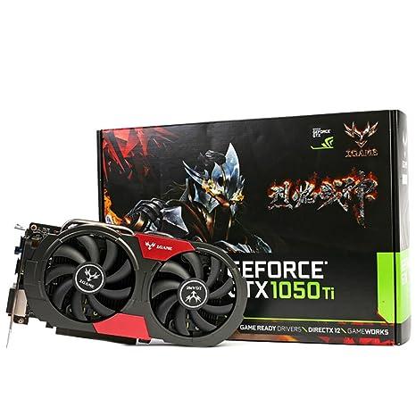 Colorful iGame de GPU GTX 1050ti u4gd5 tarjeta gráfica GDDR5 ...