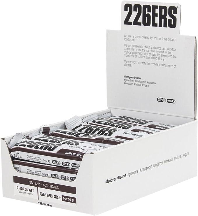 226ERS Barrita NEO Bar 50% Proteína Chocolate - 24 Barritas ...