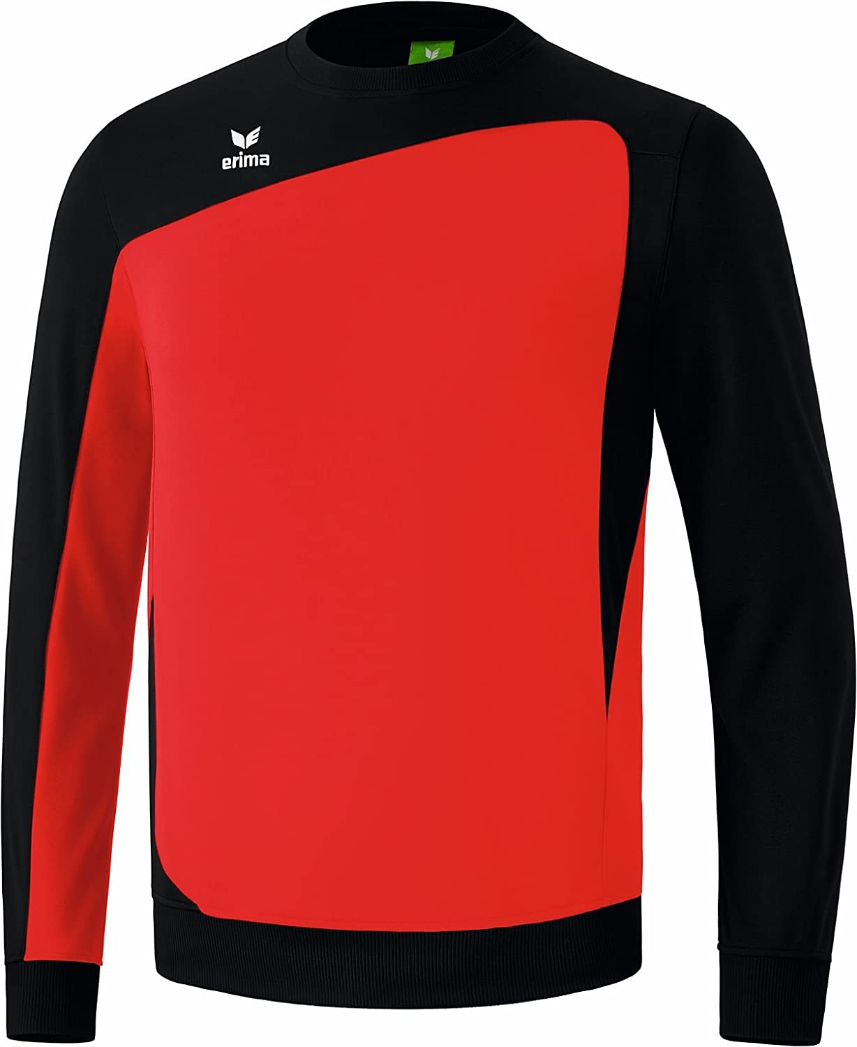 erima Kinder Tops langarm Club 1900 Trainingssweat Rot/Schwarz 107332