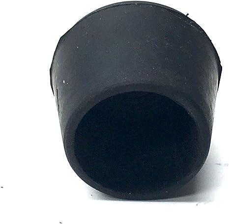 Tube Bimini Top Black Rubber Tube Ends Chair End Caps for 3//4″ O.D