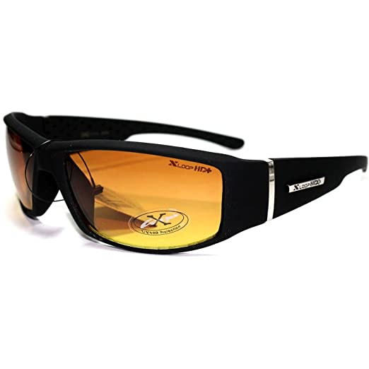8d9775085b Image Unavailable. Image not available for. Color  XL12 Style 1 X-Loop  Eyewear HD High Definition Men s Outdoor Sport Sunglasses