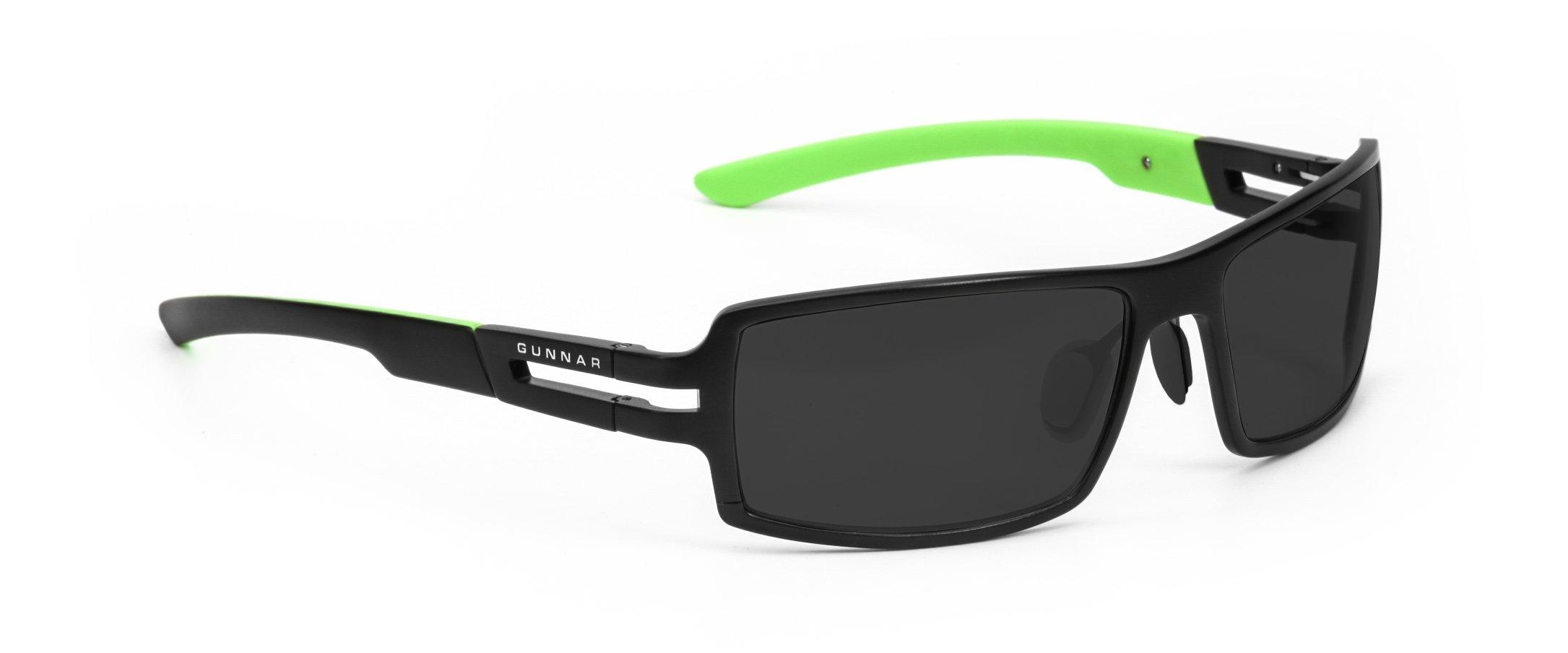 GUNNAR Gaming and Computer Eyewear/Razer RPG Sunglasses - Patented Lens, Reduce Digital Eye Strain, Block 65% of Harmful Blue Light, 100% UV