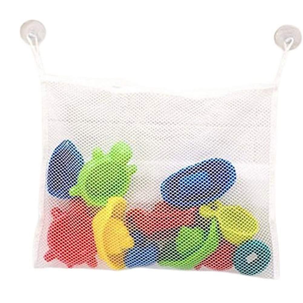 Kentop Rete per giocattoli per la vasca da bagno - Rete per riporre i giocattoli in bagno, 35x 45cm