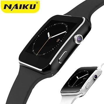 Amazon.com: Bluetooth Smart Watch X6 Sport Passometer ...