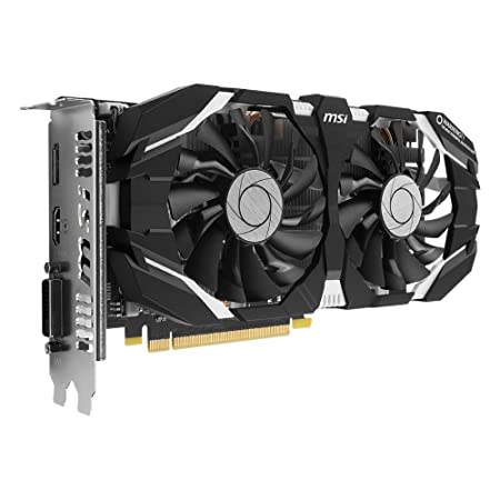 MSI GeForce GTX 1060 6GT OCV1 GeForce GTX 1060 6GB GDDR5 - Tarjeta gráfica (NVIDIA, GeForce GTX 1060, GDDR5, PCI Express x16 3.0, Activo, ATX)