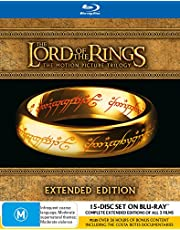 The Lord Of The Rings: Trilogy (Extended Editions) [15 Discs] (Blu-ray)