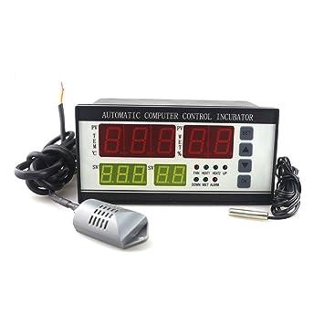 huatuo® termostato Digital controlador multifunción/Incubadora Automática de Huevos de Aves Gallinas Patos,