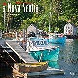 Nova Scotia, Wild & Scenic 2018 12 x 12 Inch Monthly Square Wall Calendar, Canada Scenic Nature