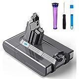 LiBatter DC62 V6 Batería 21.6v 3000mAh Reemplazo para Dyson V6 DC58 DC59 DC61 DC62 Serie Animal DC72 204720-01 209432-01 209472-01 209476-01 209560-01 210691-01 210692-01 Aspirador de Mano: Amazon.es: Bricolaje y herramientas