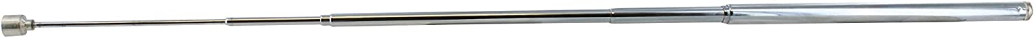 ABN Telescoping Magnetic Pick Up Tool 2 lb Pound Capacity 25.5in Magnet Stick Wand for Retrieving Nails//Screws
