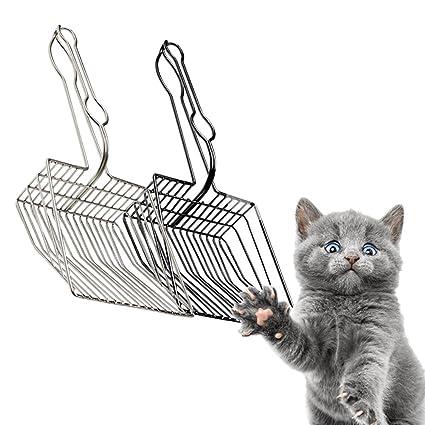 Cucharada Grande De Metal De La Pala De La Litera del Gato ...