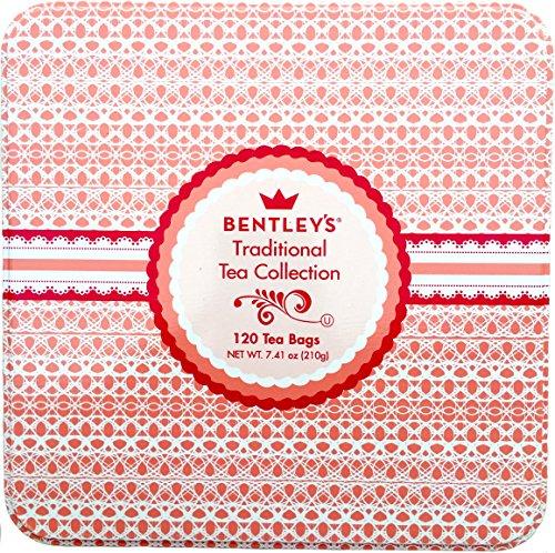 Bentleys Traditional Tea Collection 120 Tea Bags - - Bentley Green Tea Collection