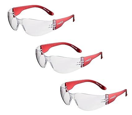 0ab3dc652a 3 x voltX 'GRAFTER' Gafas de seguridad industriales ligeras, Certificado CE  EN166F /