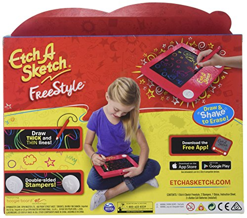 Review Etch A Sketch Freestyle