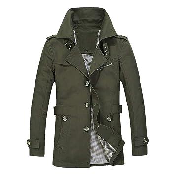 2018 New!!😊Men Winter Warm Jacket Overcoat,Boys Outwear Slim Long Trench