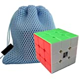 New YongJun YJ YuLong 3x3x3 3 Layer Magic Cube Speed Puzzle Cube smooth turning Cube Toy Magic Cube (Stickerless) + One Cube Bag