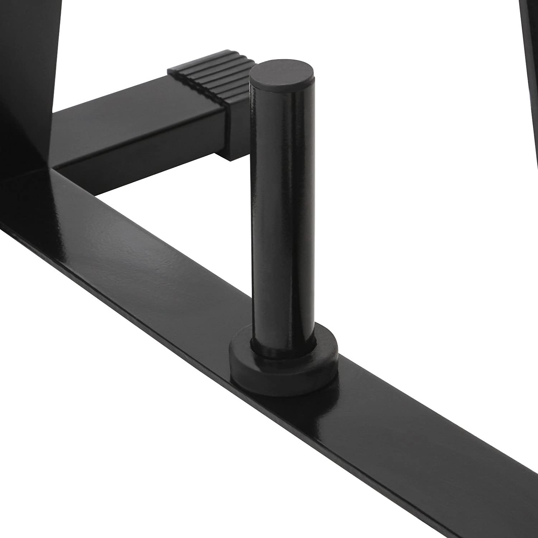 Physionics capacidad m/áxima de carga 175 kg Soporte para discos de pesas aprox 70//37//93 cm
