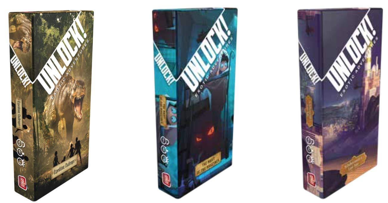 Space Cowboys Unlock! Expedition: Challenger, Scheherazades Last ...