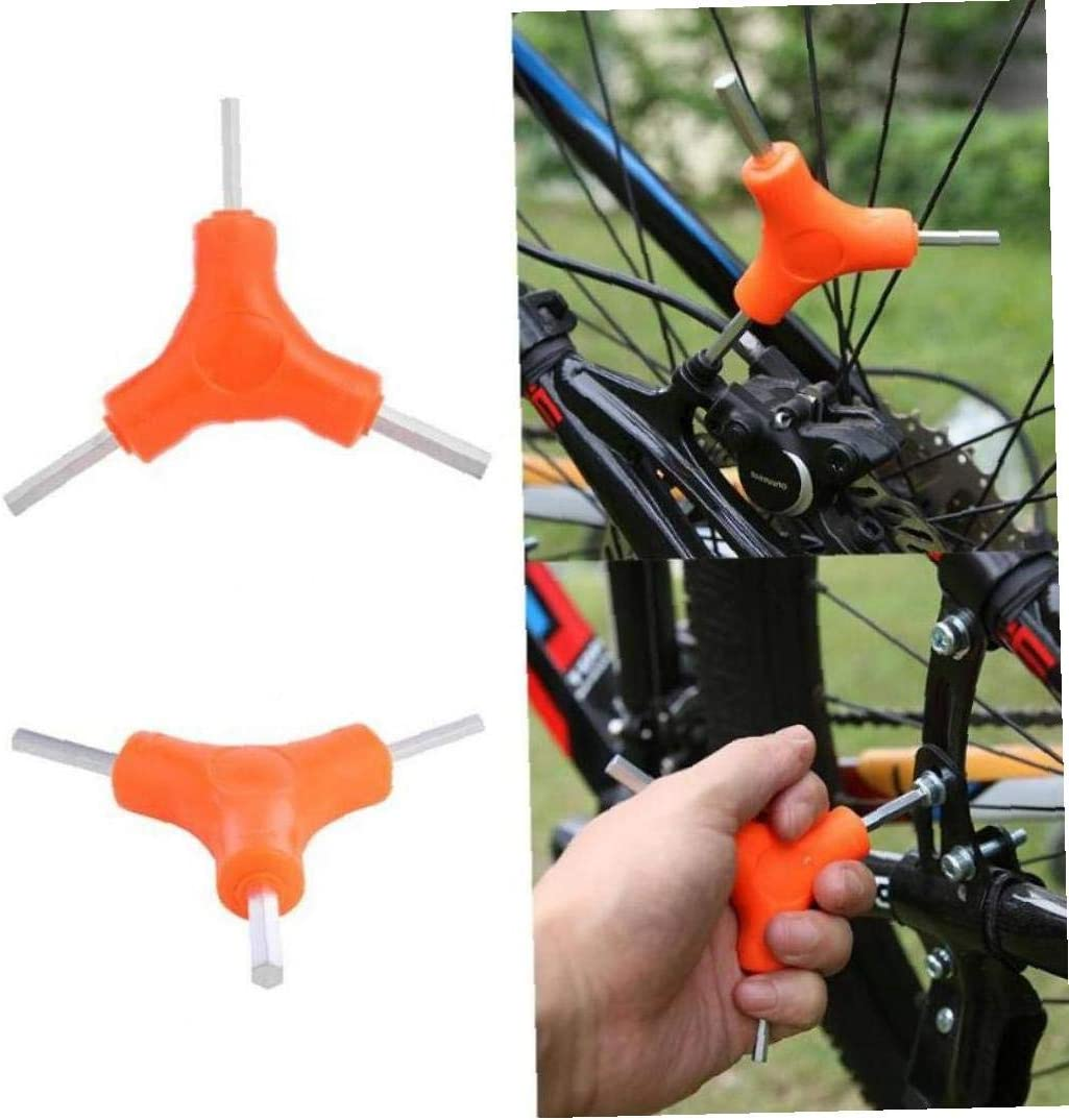 Y-Shaped Hex Wrench 3 Way 4//5//6mm Spanner Bike Allen Hex Key Tools Hexagonal Service Repair Wrenches MTB Road