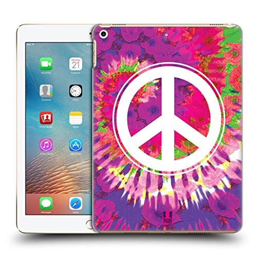 Head Case Designs Peace Sign Tie Dye Mix Hard Back Case for