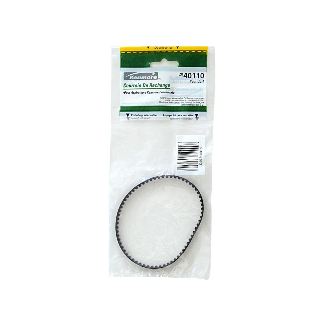 Replacement Belt for Kenmore Powermate Vacuums (20-40110)