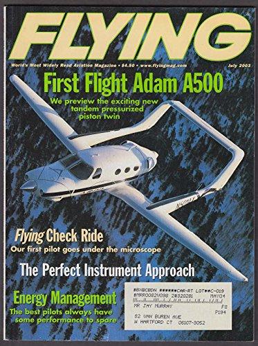 Adams Craft - FLYING Adam Aircraft A500 pilot report ++ 7 2003