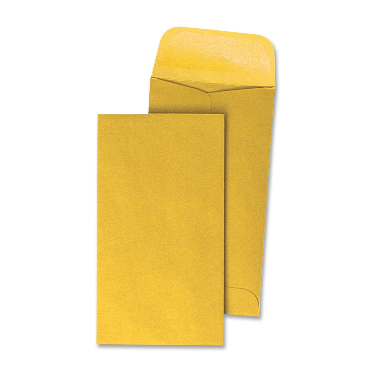 Quality Park Coin Envelopes, 7, 3.5 x 6.5 Inches, Kraft, Box of 250 (50763)