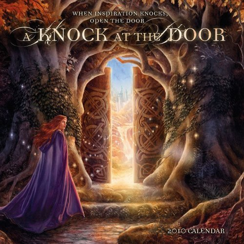 A Knock at the Door 2010 Wall Calendar: When Inspiration Knocks, Open the Door by Angi Sullins (2009-07-10) ()