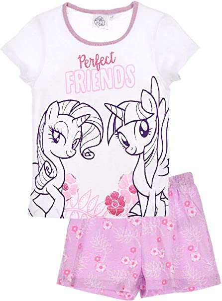 Pijama de algodón de My Little Pony Modelo 1 Talla 8: Amazon.es ...