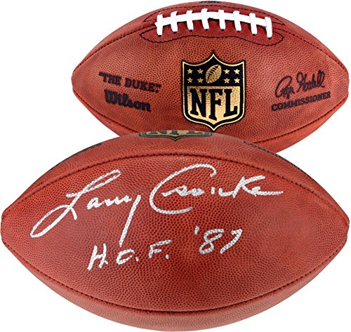 Larry Csonka Miami Dolphins Autographed Duke Pro Football with