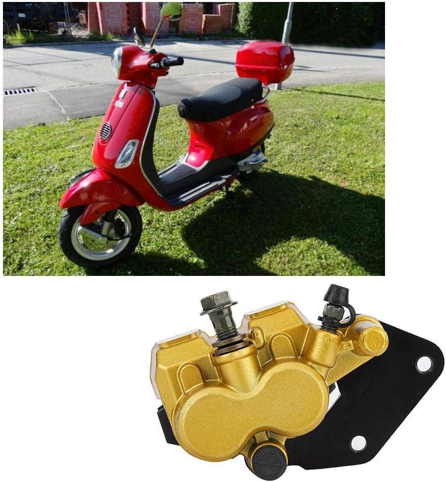 Pinza de freno trasero Conjunto de pinza de freno trasero con almohadillas de repuesto para motocicleta para 125cc T2